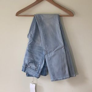 NWT point sur high waisted jeans- light wash